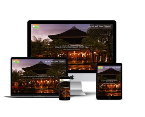 Indian Restaurant Nusa Dua,web design,jasa web bali